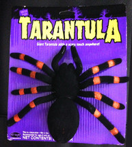 Realistic Creepy Bug-JUMBO TARANTULA SPIDER-Gothic Haunted House Prop De... - $6.90