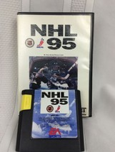 VTG NHL 1995 Sega Game EA Sports Hockey High Score Productions Case Cart... - $5.89