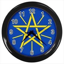 Ethiopia Emblem Wall Clock - Tabard Surcoat - $17.94