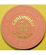 NCV Casino Chip, Continental, Las Vegas, NV. L76. - $27.50