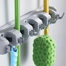 Wall Mounted Mop Brush Broom Organizer Holder Hanger - $24.70