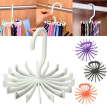 Rotating Tie Rack Adjustable Scarves Storage Ho... - $7.20