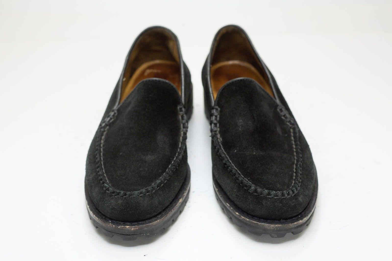 Cole Haan 6 Black Suede Slip On Loafer Women's image 6