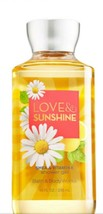 Bath And Body Works Love And Sunshine Shower Gel 10 OZ Shea & Vitamin E - $10.20