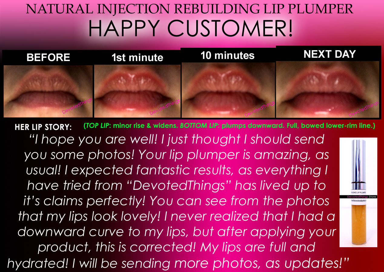 NATURAL INJECTION LIP PLUMPING GLOSS EXTREME REBUILDING LIP PLUMPER THAT WORKS