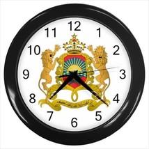 Morocco Coat of Arms Wall Clock - Tabard Surcoat - $17.94