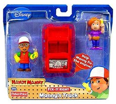 Handy Manny Fix-It-Right Manny's Truck - $30.00