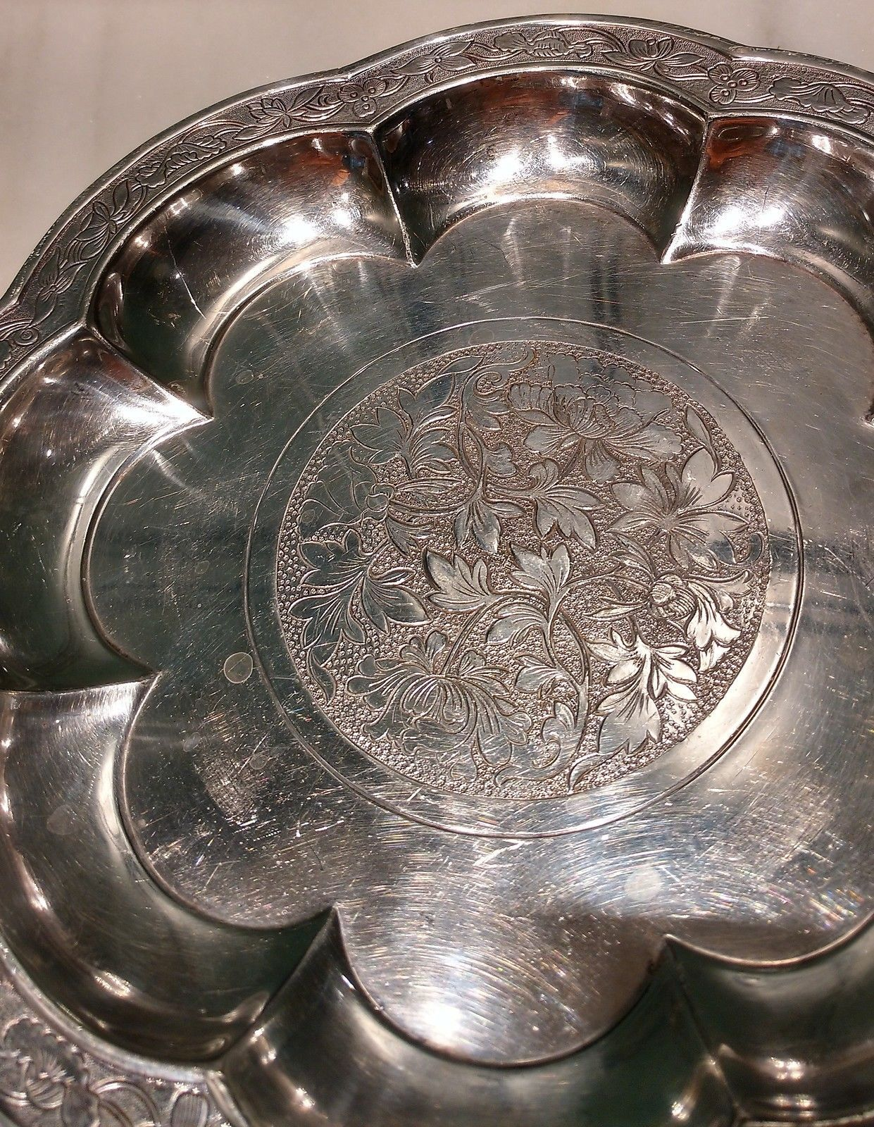 "Versailles by Gorham Sterling Silver Serving Spoon Pierced 9-Hole 8 1//2/"" Custom"