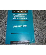 2001 Plymouth Prowler Transmission Diagnostic Procedure Manual OEM - $8.81