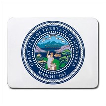 Seal of Nebraska US Mousepad (Neoprene Non-slip Mousemat) - Tabard Surcoat - $7.17