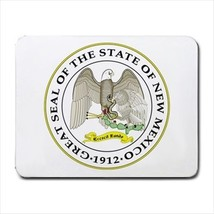 Seal of New Mexico US Mousepad (Neoprene Non-slip Mousemat) - Tabard Surcoat - $7.17