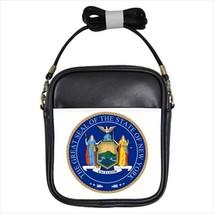 Seal of New York US Leather Sling Bag (Crossbody Shoulder) - Tabard Surcoat - $14.35