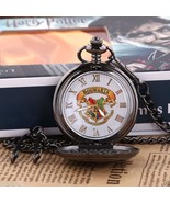 Harry Potter Pocket Watch Pendant Necklace Cosplay New in Gift Box - $15.99