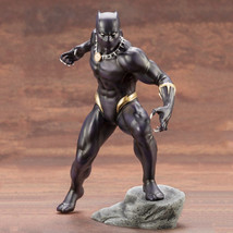 Avengers End Game Hero Black Panther Art Statue PVC Decoration Figure Gift - $32.99