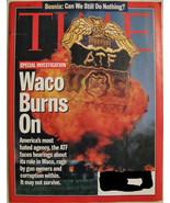 TIME MAGAZINE JULY 24 1995 7/24/95 WACO BURNS ON,BOSNIA,NEW FORM OF MATT... - $16.00