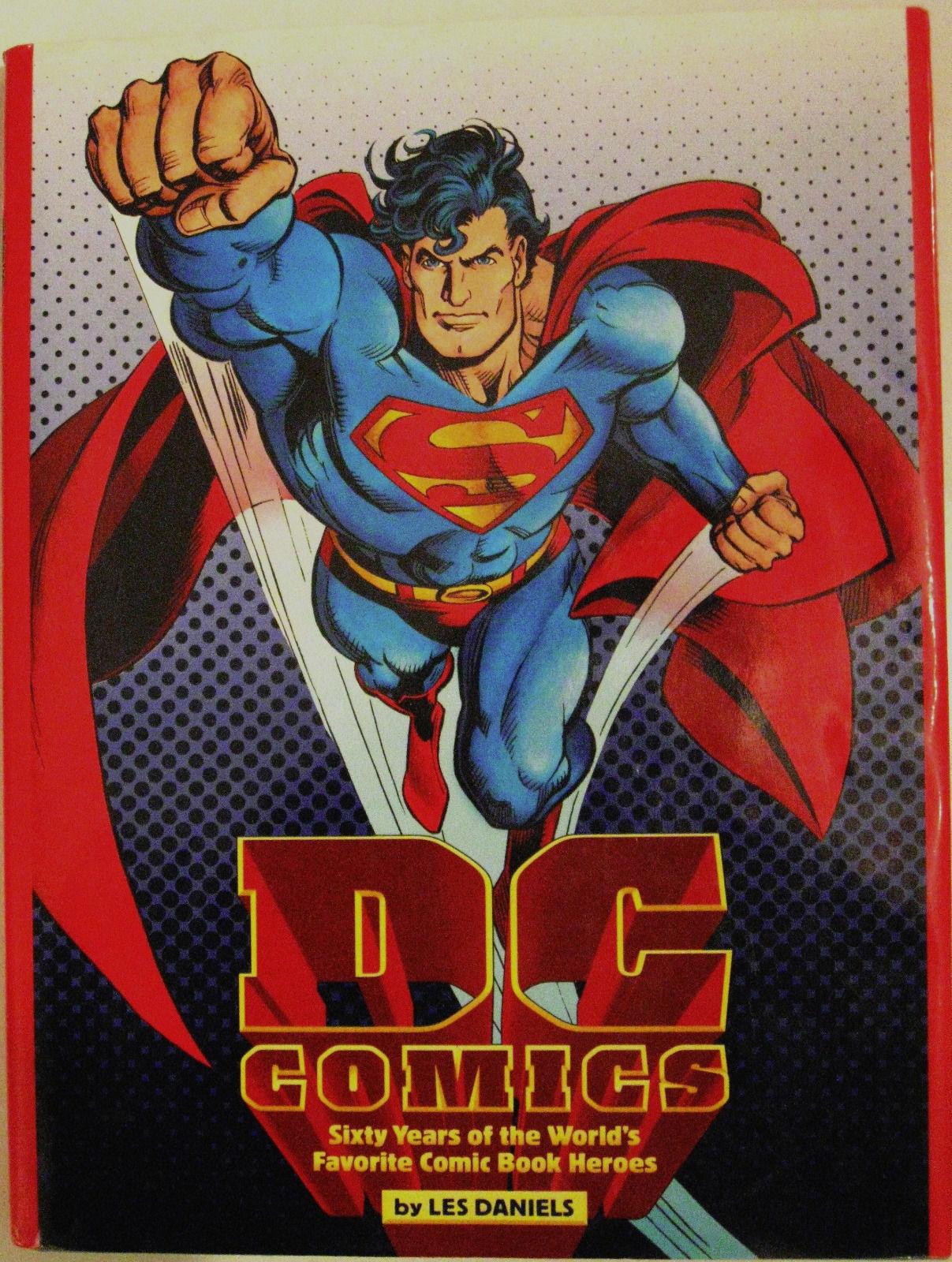 DC COMICS SIXTY YEARS of the WORLD'S FAVORITE COMIC HEROES HC 1995 1st Print NM - $42.00