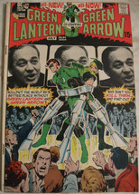 GREEN LANTERN# 84 Jun-July 1971 Green Arrow Neal Adams Cover/Art Bronze:... - $35.00
