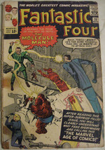 FANTASTIC FOUR# 20 Nov 1963 1st Molecule Man/Origin Lee/Kirby SA KEY: 3.... - $125.00