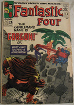 FANTASTIC FOUR# 44 Nov 1965 1st Gorgon 2nd Dragon Man Lee/Kirby SA KEY: ... - $110.00