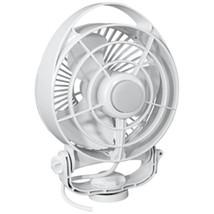 Caframo Maestro 12V 3-Speed 6 Marine Fan w/LED Light - White - $110.84