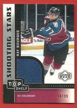 2002 / 03   RAY  BOURQUE   GAME  USED  JERSEY  14 / 99   SHOOTING  STARS... - $19.99