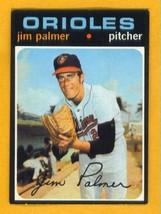 1971 Topps # 570 Jim Palmer Vg+ No Creases !! - $17.99
