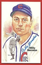 BILLY  HERMAN   SIGNED  AUTOGRAPH    PEREZ  STEELE   LIMITED  POSTCARD  ... - $19.99
