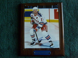 Mark Messier Autographed Wall Plaque !! - $99.99