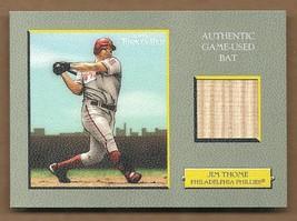 2005   JIM  THOME   GAME  USED  BAT   TURKEY  RED   NEAR  MINT   !! - $14.99