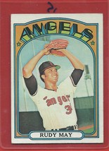 1972 Topps High # 656 Rudy May From A Set Break !! - $14.99