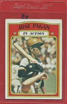 1972 Topps High # 702 Jose Pagan In Action From A Set Break - $14.99