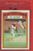1972 Topps High # 694 Alan Gallagher In Action From Set Break - $94.99