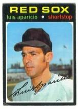 1971 Topps Hi # 741 Luis Aparicio VG- / Vg !! - $12.99