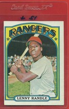 1972 Topps High # 737 Lenny Randle From A Set Break !! - $300.00