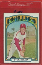 1972 Topps High # 726 Dick Selma From A Set Break !! - $94.99