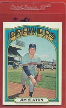 1972 Topps High # 744 Jim Slaton From A Set Break !! - $94.99