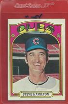 1972 Topps High # 766 Steve Hamilton From A Set Break !! - $12.99