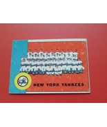 1963  TOPPS  # 247   NEW  YORK  YANKEES  TEAM  CARD   !! - $19.99