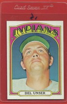 1972 Topps High # 687 Del Unser From A Set Break !! - $14.99