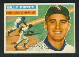 1956  TOPPS  #160  BILLY  PIERCE  CHICAGO     NEAR  MINT /  MINT  OR  BE... - $475.99