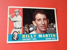 1960  TOPPS  #  173   BILLY  MARTIN   !! - $14.99