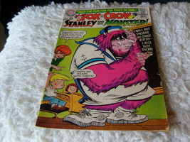 FOX  +  THE  CROW   AUG / SEPT  1967    # 105    STANLEY + HIS  MONSTER ... - $14.99