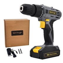 Cordless Drill Driver Powerful Screwdriver 18V Lion Battery with Charger... - $53.65