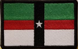 """[Single Count] Custom and Unique (3 1/2 """" x 2 1/4"""" Inches) DENISON TEXAS FLAG... - $6.92"""