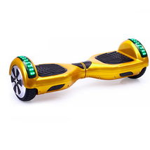 "Golden Hoverboard Bluetooth Speaker 6.5"" LED's UL2272 - $229.00"