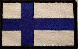 """[Single Count] Custom and Unique (3 1/2 """" x 2 1/4"""" Inches) FINLAND FLAG Recta... - $6.92"""