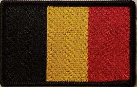 """[Single Count] Custom and Unique (3 1/2 """" x 2 1/4"""" Inches) BELGIUM FLAG Recta... - $6.92"""