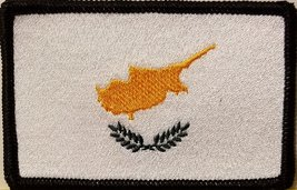 """[Single Count] Custom and Unique (3 1/2 """" x 2 1/4"""" Inches) CYPRUS FLAG Rectan... - $6.92"""