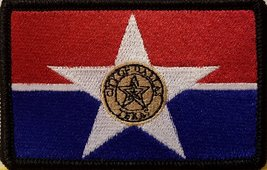 "[Single Count] Custom and Unique (3 1/2 "" x 2 1/4"" Inches) DALLAS TEXAS FLAG ... - $6.92"