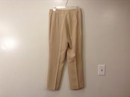 Ladies Jones New York Light Tan Beige Pants Sz 6 image 2